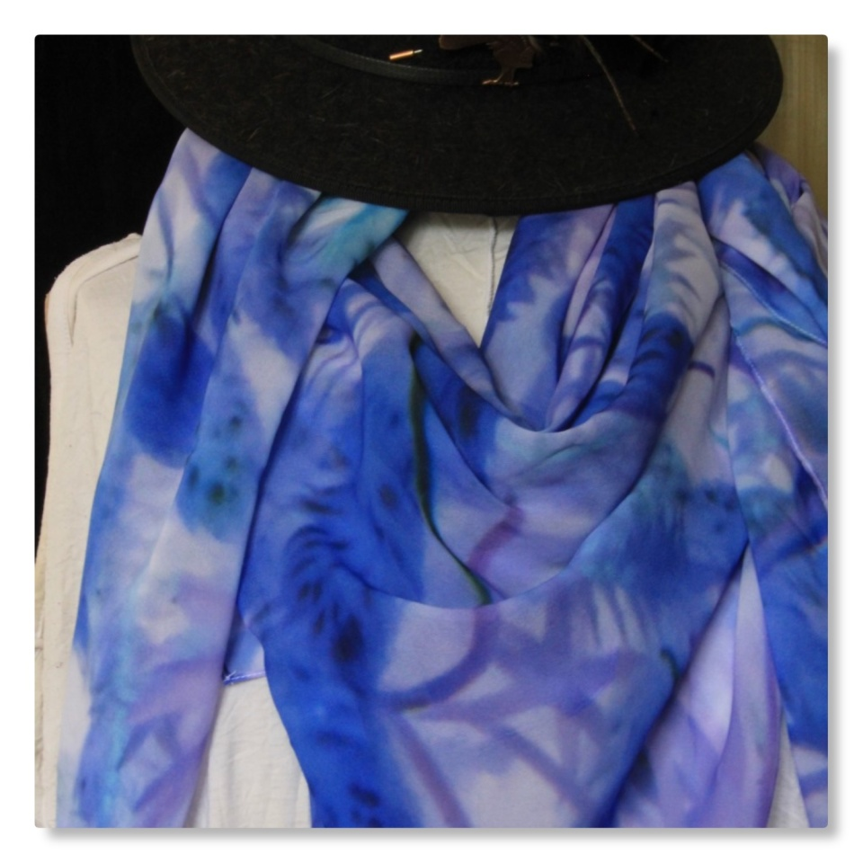 Blue-moss-scarf-design