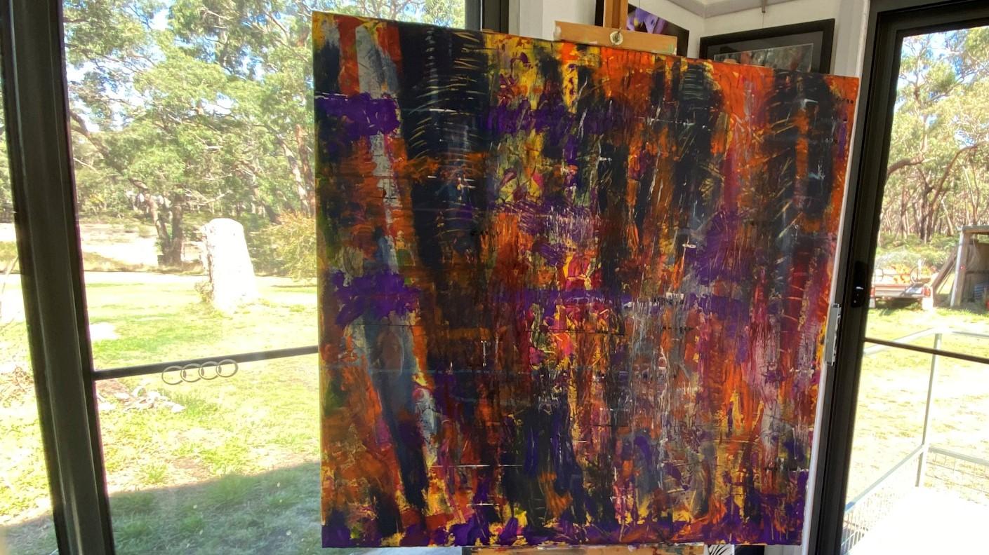 Work in Progress - Layer 2 - 'Trunks' Lisa G Hunter