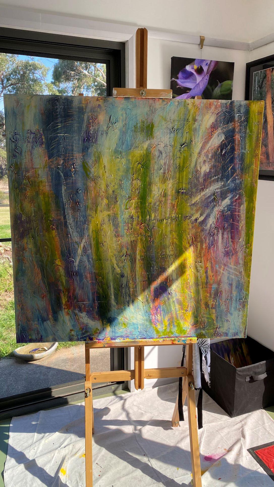 Work in progress - Layer 3 - 'Trunks' Lisa G Hunter